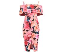 FLORAL - Cocktailkleid / festliches Kleid - peach