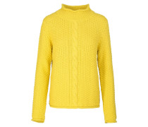 MINNA Strickpullover yellow