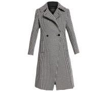 Wollmantel / klassischer Mantel black/white