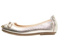 Klassische Ballerina metallic gold
