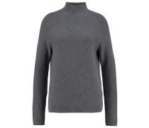 Strickpullover - mid grey melange