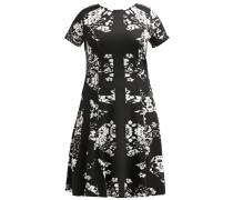 Jerseykleid - black/white combo