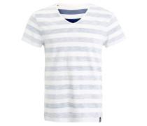 T-Shirt print - dark grey/grey