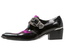 SYLVIAN Slipper black/pink