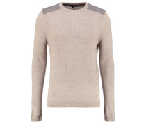 Strickpullover - oatmeal
