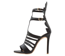 PARIS High Heel Sandaletten schwarz