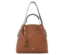 DAURA - Handtasche - brown