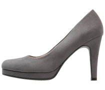 Plateaupumps - grey