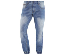 Jeans Tapered Fit mid blue wash