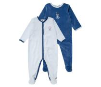2 PACK Pyjama dark blue