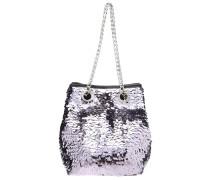 Handtasche - metallic