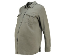 Hemdbluse dark khaki