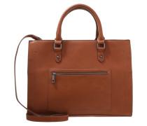 Shopping Bag cognac/snake