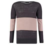 Strickpullover - black/pink