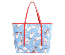 MISURA Shopping Bag light blue