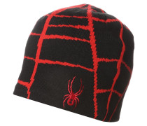 WEB Mütze black/red