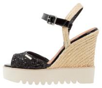 ALPINE High Heel Sandaletten noir