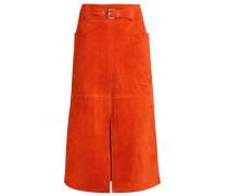 Lederrock orange