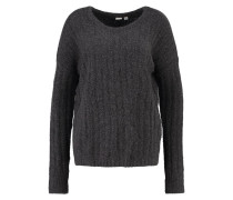 Strickpullover charcoal heather