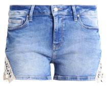 EMILY - Jeans Shorts - true blue