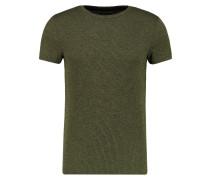 TShirt basic oliv/black