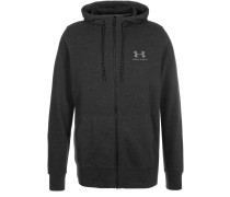 Sweatjacke asphalt heather/greyhound heather