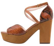 JADA High Heel Sandaletten mid brown