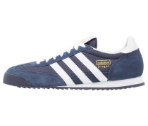 DRAGON - Sneaker low - new navy/white/metallic gold