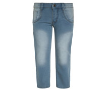 Jeans Slim Fit mittelblau