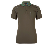 MAX TX Poloshirt dark green