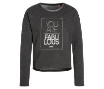 Sweatshirt dark grey melange