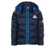 Winterjacke blau