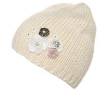 Mütze ecru