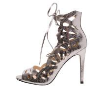 APHRODITE High Heel Sandaletten pewter