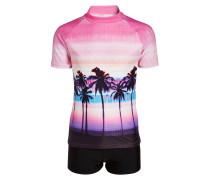 SET - Badeanzug - pink