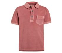 HUGH - Poloshirt - pompeian red