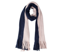 Schal - dark blue/rose