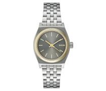 SMALL TIME TELLER Uhr silvercoloured