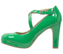 Plateaupumps green