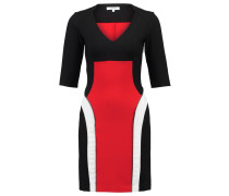 RERA Jerseykleid noir/rouge/ecru