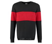 KAJAM Sweatshirt black/red