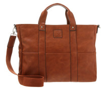 Notebooktasche dark cognac