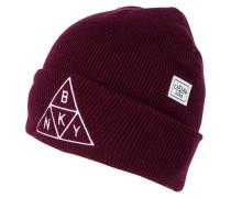 Mütze maroon/white