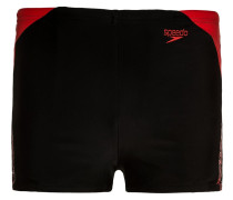 BOOM SPLASH - Badehosen Pants - black/risk red