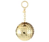 DISCO POM POM - Schlüsselanhänger - pale gold-coloured
