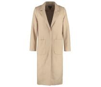 Wollmantel / klassischer Mantel taupe/beige