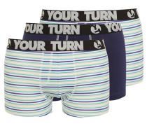 3 PACK Panties navy