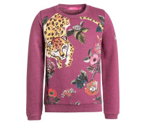 NONO Sweatshirt purple berry melange