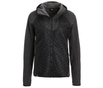 FANES Fleecejacke black out melange