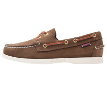 DOCKSIDES Bootsschuh dark brown